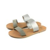 MALVADOS ICON 經典系列 涼鞋 拖鞋 銀灰 女鞋 3005-1742 no014