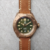 [Y21潮流精品直播]  新品上市! Odyssey - Bronze Green  瑞士機械表 銅