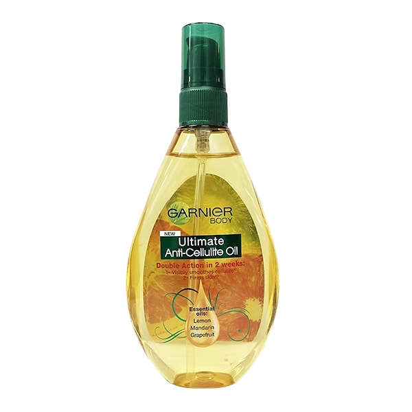英國進口 Garnier 身體護膚油 緊緻款 150ml (Anti-Cellulite)