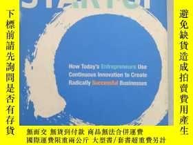 二手書博民逛書店罕見!! The Lean Startup:How Today s Entrepreneurs Use Conti