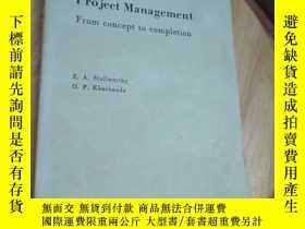 二手書博民逛書店Total罕見Project Management From concept to completion(京)