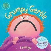 【麥克書店】GRUMPY GERTIE/硬頁新奇書 英文繪本《主題: 自主管理》