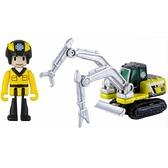 TOMICA 緊急救援隊 HB05 工程雙臂車(附人偶)