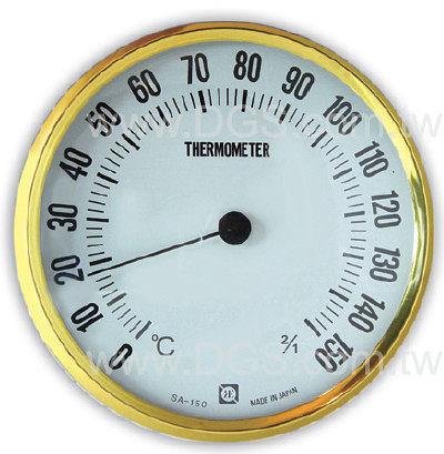 《日製》溫度計 圓型三溫暖用Sanua-Thermometer