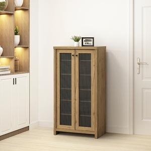 伊莉詩雙門透氣高鞋櫃-黃金橡木色W62.2D38H120.6