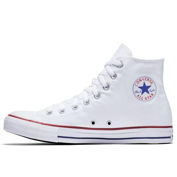 Converse Chuck Taylor All Star -男女基本款高筒白色休閒鞋-  NO.M7650C