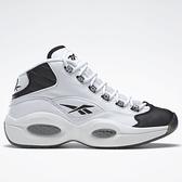 REEBOK QUESTION MID 男鞋 籃球 艾佛森 皮革 白 黑【運動世界】GX5260