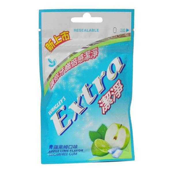 Extra Clean 益齒達 潔淨無糖口香糖 - 青蘋萊姆口味