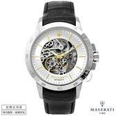 【台南 時代鐘錶 MASERATI】台灣公司貨 瑪莎拉蒂 INGEGNO系列 R8821119002 鏤空機械腕錶