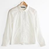 【MASTINA】蕾絲縷空造型襯衫-白 秋裝限定嚴選
