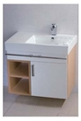 【麗室衛浴】精緻造型  C-194  檯上盆櫃組  尺寸660*450