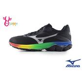 Mizuno美津濃 成人女款 WAVE RIDER 23 慢跑鞋 運動鞋 H9294#黑彩◆OSOME奧森鞋業