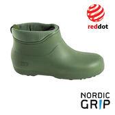 Nordic Grip 北歐防滑保暖雪靴│雨鞋│雪鞋 (榮獲德國紅典設計獎) 橄欖綠 NG10A