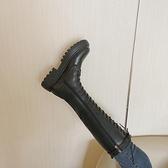 騎士靴女長筒新款百搭顯瘦高筒不過膝小個子中筒英倫冬季加絨 歐韓流行館