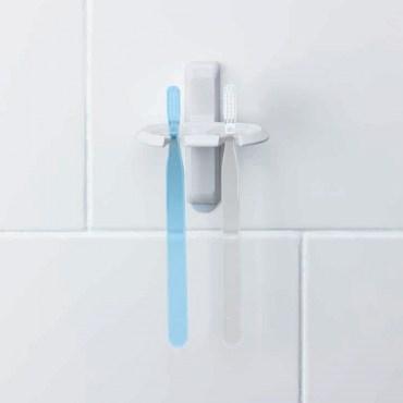 3M 無痕收納系列-浴室3M 無痕牙刷架