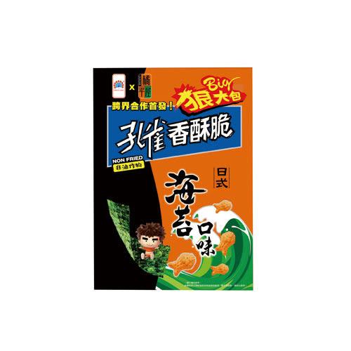 孔雀香酥脆狠大包-海苔104g【愛買】