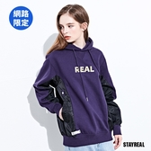 STAYREAL REAL輕軍事MA1連帽T