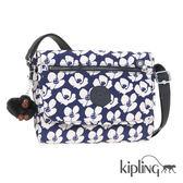 Kipling 夏日時光花卉印花側背包-小