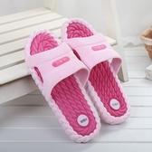 夏季浴室拖鞋男女夏室內居家防滑家用洗澡厚底家居軟底情侶涼拖鞋 居享優品