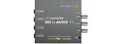 【BMD】BlackMagic Mini Converter SDI to Audio 4K 迷你轉換器 SDI 到音頻 4K 公司貨 CONVMCSAUD4K