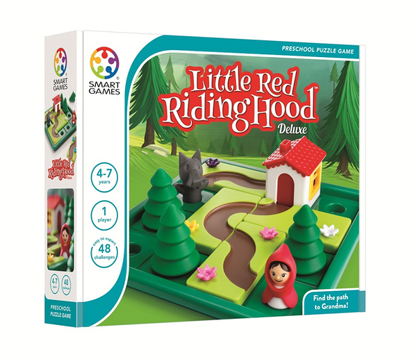 【SMART GAMES】小紅帽 Little Red Riding Hood 桌上遊戲
