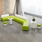 沙發 簡約現代創意辦公室沙發商務接待休閒組合酒店大廳會客洽談區沙發