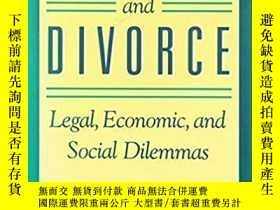 二手書博民逛書店【英文原版】Mothers罕見and divorce: Legal, economic, and social d