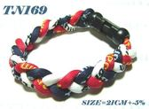 【全館折扣】 全新 三編手圈 運動手圈 TN169 中華隊紅白藍 液化鈦手圈 鈦手圈 磁力手圈