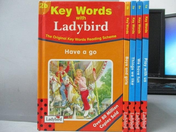 【書寶二手書T6/語言學習_OAT】Key Words-Have a go_play with us等_共5本合售