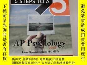 二手書博民逛書店5罕見Steps to a 5 AP Psychology 2016【心理學2016】原版 庫存Y6318 L