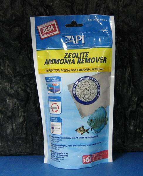 【西高地水族坊】美國魚博士API 阿摩尼亞速除濾材AMMO-CHIPS(310g)