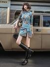 國潮旗袍年輕款2021年新款少女改良版中國風洋裝小個子短款女夏 好樂匯