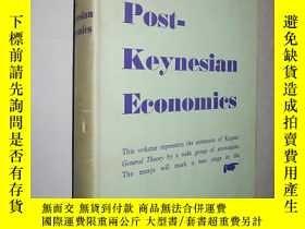二手書博民逛書店Post-Keynesian罕見Economics 後凱恩斯經濟