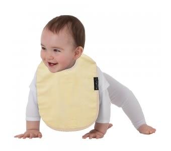 紐西蘭 Mum 2 Mum 機能型神奇口水巾圍兜-寶寶款-檸檬黃 吃飯衣 口水衣 防水衣