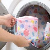 洗衣袋 可愛動物印花護洗袋(內衣)16*16cm 【XYA050】123OK