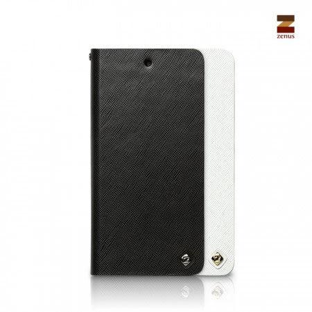 【00548】 [Google Nexus 5] Zenus Minimal Diary 商務十字紋 書本式皮套