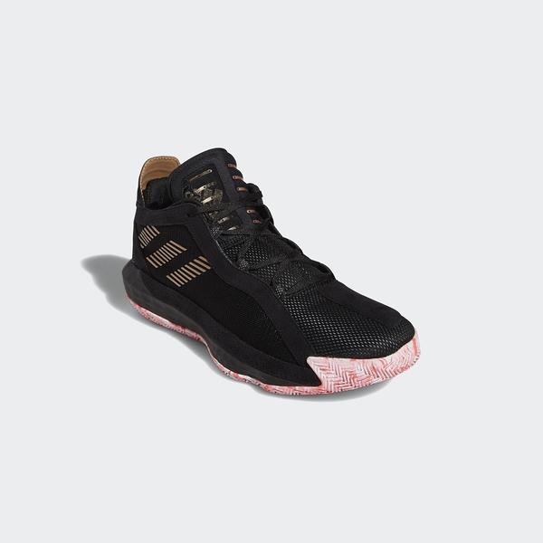Adidas DAME 6 GCA男款黑色籃球鞋-NO.FW9024