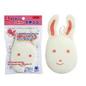 AKACHAN阿卡將 敏感肌膚洗澡海棉-小兔