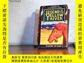 二手書博民逛書店LEGEND罕見OF THE YELLOW RIVER(黃河謠)