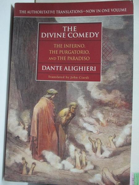 【書寶二手書T1/原文小說_KOL】The Divine Comedy: The Inferno…