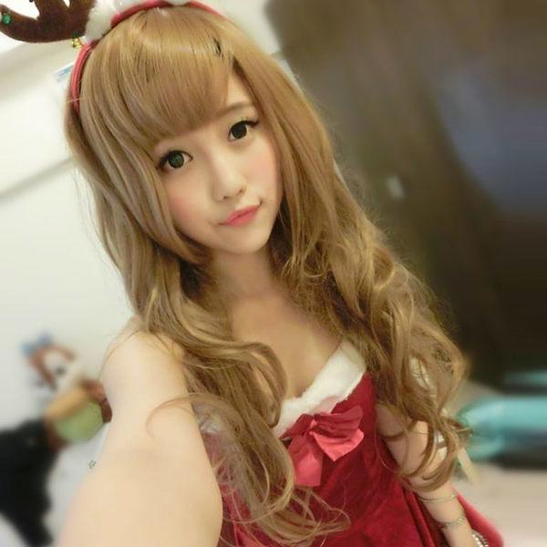 甜美外國女孩髮量多超長捲髮~高仿真超自然整頂假髮【MA100】☆雙兒網☆