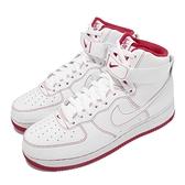 Nike 休閒鞋 Air Force 1 High 07 白 紅 高筒 AF1 男鞋 女鞋【ACS】 CV1753-100