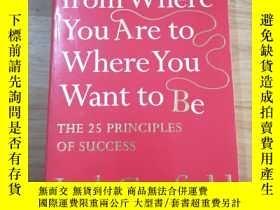 二手書博民逛書店How罕見to get from where you are to where you want to beY