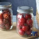 【2件裝】密封罐玻璃奶茶瓶蔬菜沙拉瓶儲物瓶【古怪舍】