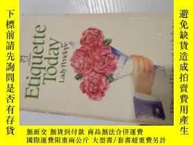 二手書博民逛書店Etiquette罕見TodayY3142