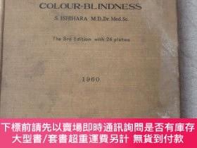 二手書博民逛書店TESTS罕見FOR COLOUR-BLINDNESS The 3rd Edition with 24 Plate