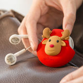 Cord Pocket 耳機收納捲線器收線扣-麋鹿