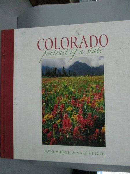 【書寶二手書T2/保健_WDZ】Colorado: Portrait of a State_David Muench