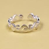 925純銀戒指-甜美高貴條紋生日情人節禮物女配件73ae192【巴黎精品】