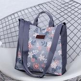 《簡單購》韓風耐磨卡通動物百搭款方型手提側背包/斜背包